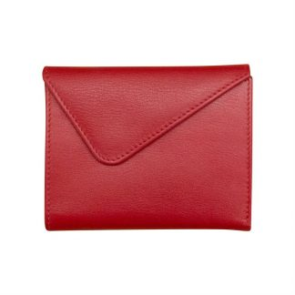 Red Small Ladies Wallet Front